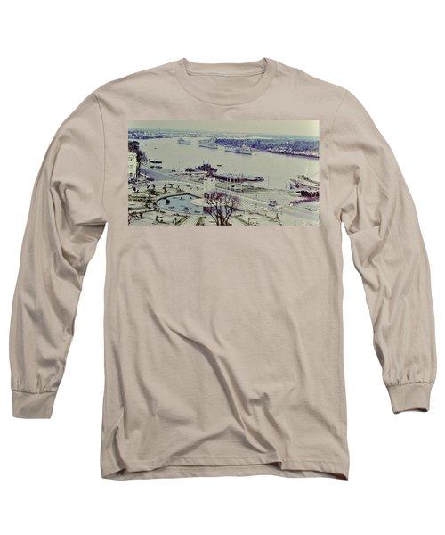 Saigon River, Vietnam 1968 Long Sleeve T-Shirt