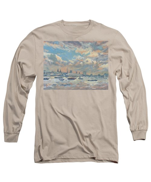 Sail Regatta On The Ij Long Sleeve T-Shirt