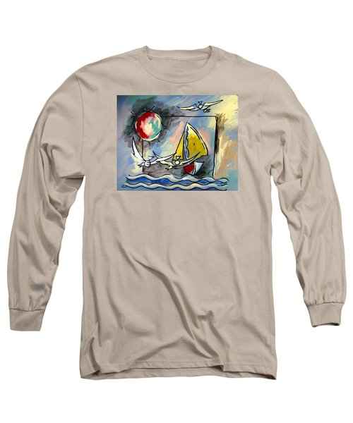 Sailboat 2 Long Sleeve T-Shirt