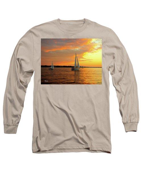 Sailboat Parade Long Sleeve T-Shirt