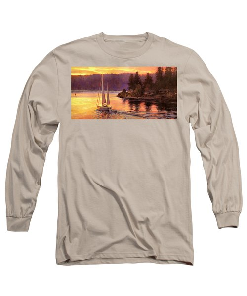 Sailing On The Sound Long Sleeve T-Shirt