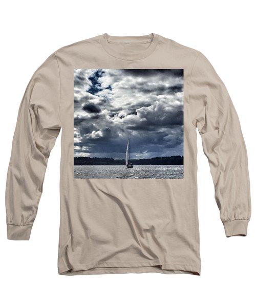 Sailing Puget Sound Long Sleeve T-Shirt