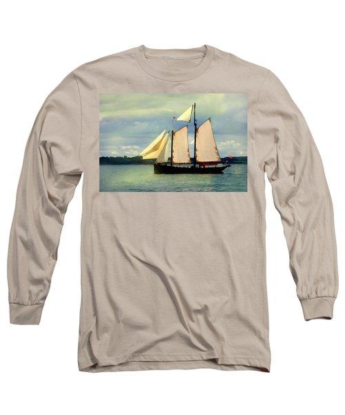 Sailing The Sunny Sea Long Sleeve T-Shirt