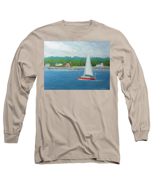 Sailing To New Harbor Long Sleeve T-Shirt