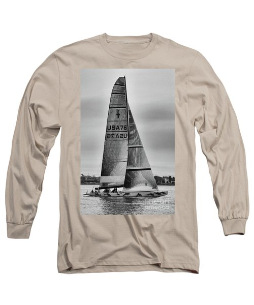 Sailing With Dolphins Long Sleeve T-Shirt