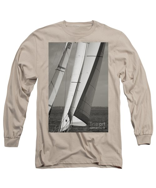 Sails Of A Sailboat Sailing Long Sleeve T-Shirt