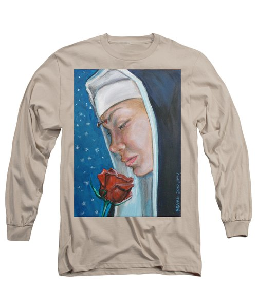 Saint Rita Of Cascia Long Sleeve T-Shirt