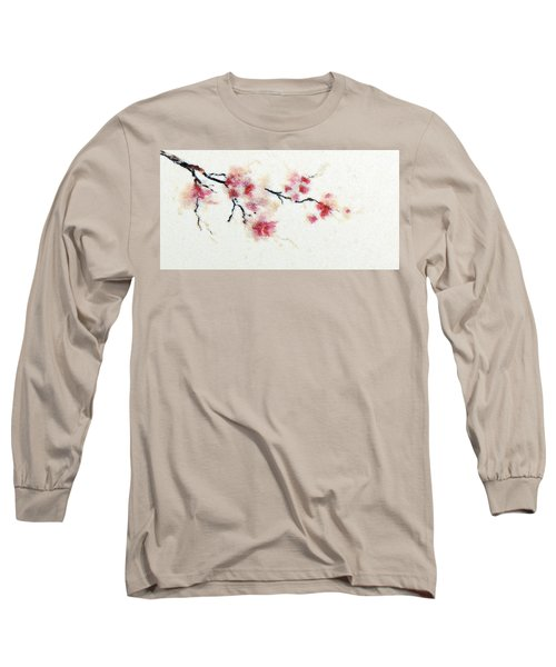 Sakura Branch Long Sleeve T-Shirt