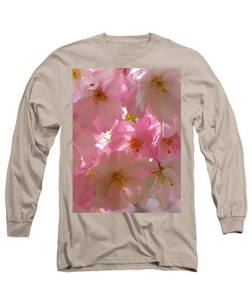 Sakura - Japanese Cherry Blossom Long Sleeve T-Shirt