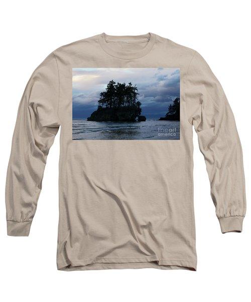 Salt Creek At Sunset Long Sleeve T-Shirt by Jane Eleanor Nicholas