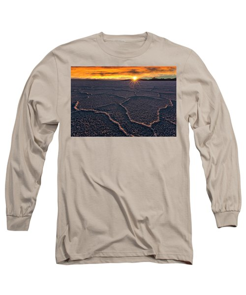 Salt Flats Sunset Long Sleeve T-Shirt