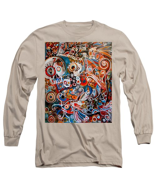 Salvador And The Giant Koi Long Sleeve T-Shirt