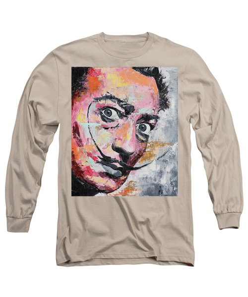 Salvador Dali Long Sleeve T-Shirt by Richard Day