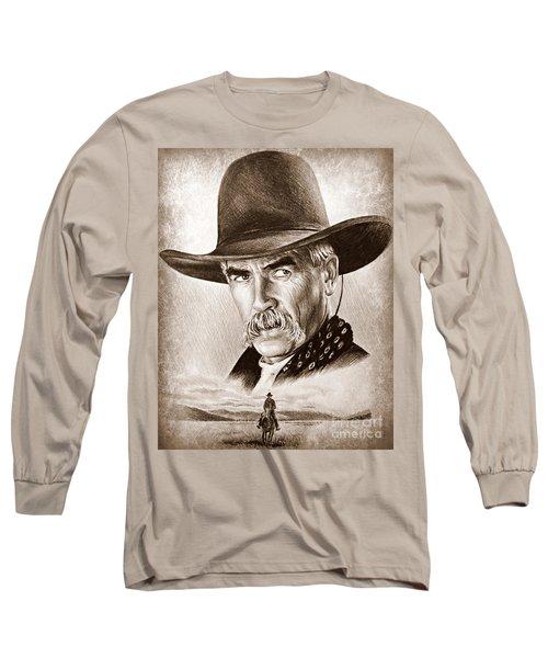 Sam Elliot The Lone Rider Long Sleeve T-Shirt