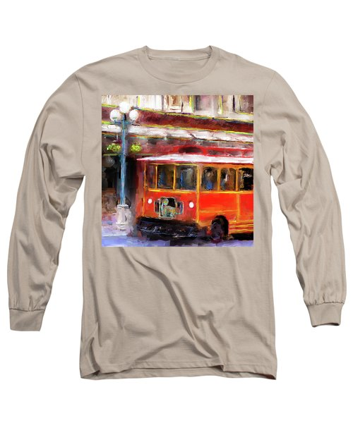 San Antonio 5 Oclock Trolley Long Sleeve T-Shirt