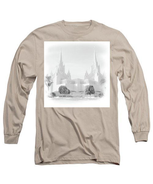 San Diego Lds Temple Long Sleeve T-Shirt