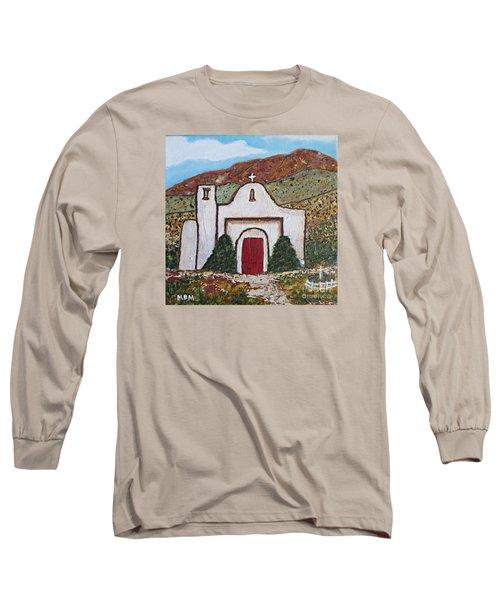 San Francisco De Asis Mission Church, Golden, Nm Long Sleeve T-Shirt