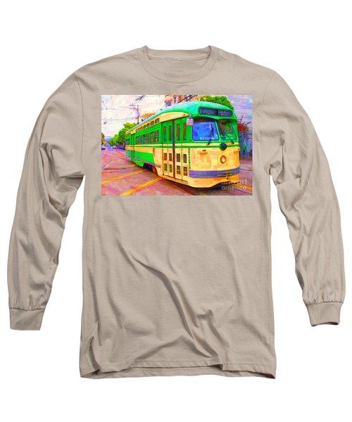 San Francisco F-line Trolley Long Sleeve T-Shirt