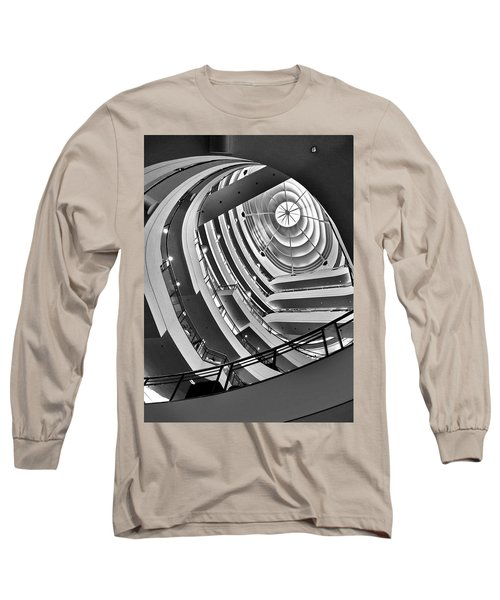 San Francisco - Nordstrom Department Store Architecture Long Sleeve T-Shirt