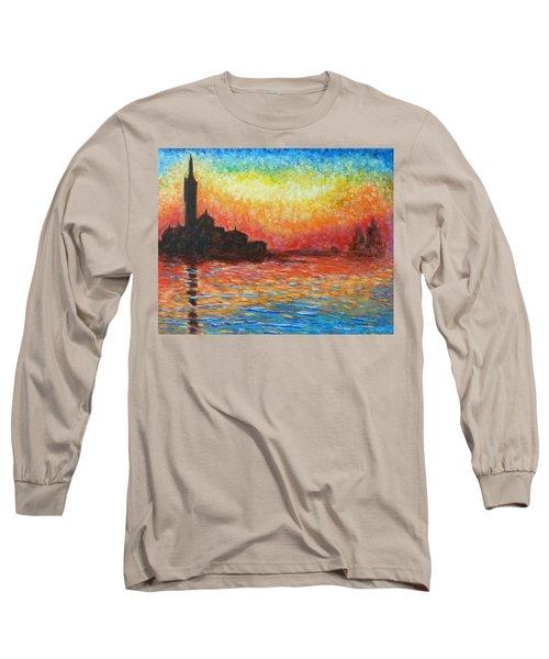 San Giorgio At Dusk Long Sleeve T-Shirt