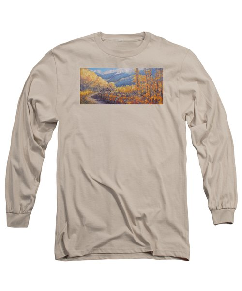 San Juan Mountain Gold Long Sleeve T-Shirt