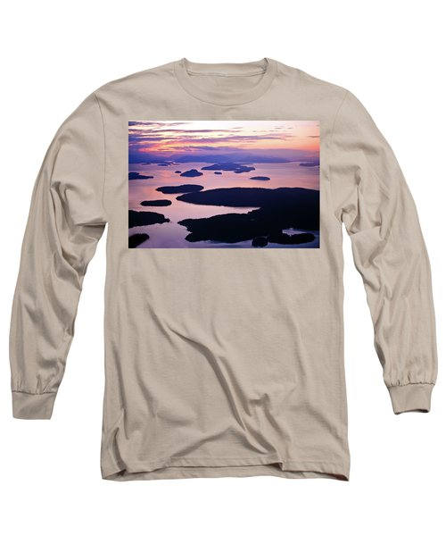 San Juans Tranquility Long Sleeve T-Shirt by Mike Reid