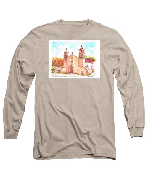 San Miguel Catholic Church, Socorro, New Mexico Long Sleeve T-Shirt