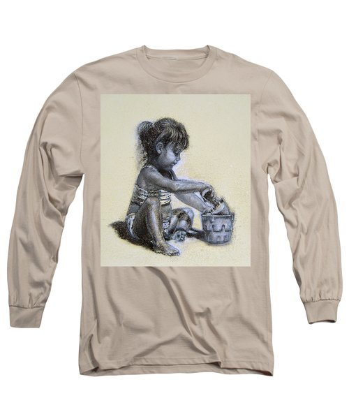 Sand Castles Long Sleeve T-Shirt