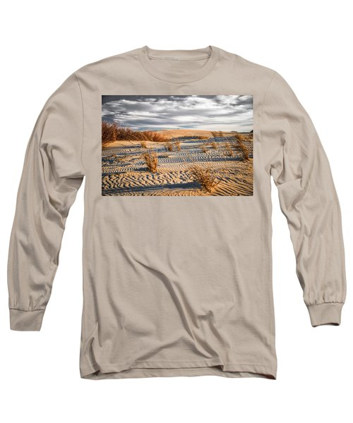 Sand Dune Wind Carvings Long Sleeve T-Shirt