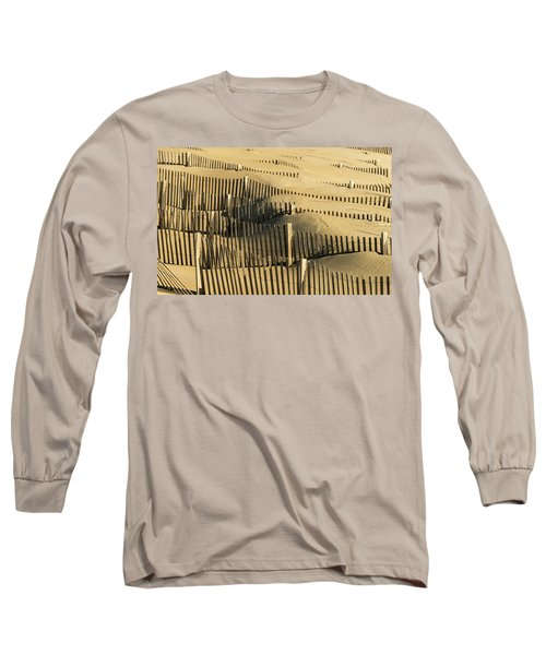 Sand Dunes Of The Outer Banks Long Sleeve T-Shirt