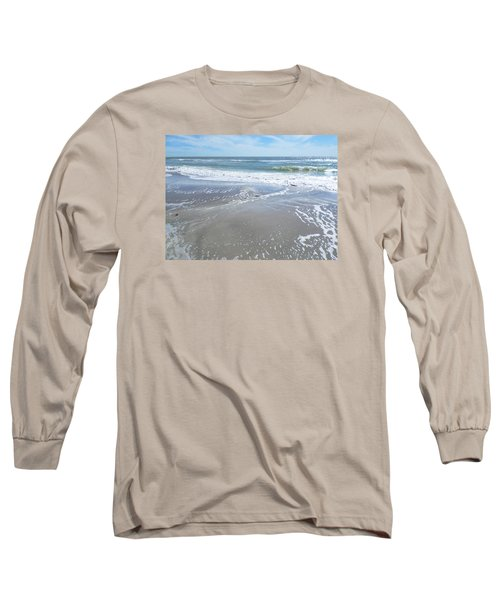 Long Sleeve T-Shirt featuring the photograph Sand, Sea, Sun, No. 3 by Ginny Schmidt