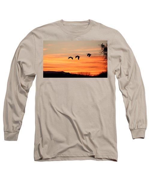 Sandhill Sunrise 2 Long Sleeve T-Shirt