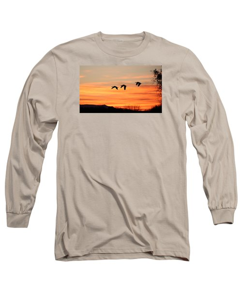 Sandhill Sunrise 2 Long Sleeve T-Shirt