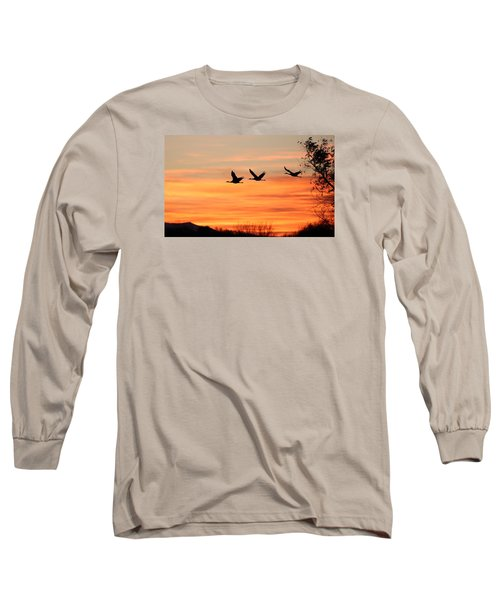 Sandhill Sunrise Long Sleeve T-Shirt