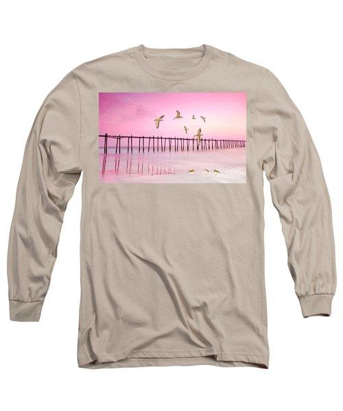 Sandpiper Sunset Long Sleeve T-Shirt