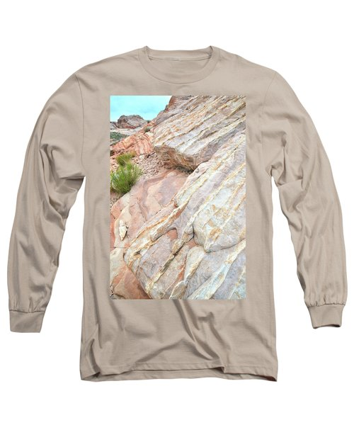 Long Sleeve T-Shirt featuring the photograph Sandstone Cove In Valley Of Fire by Ray Mathis