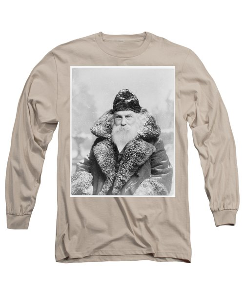 Santa Claus Long Sleeve T-Shirt by David Bridburg