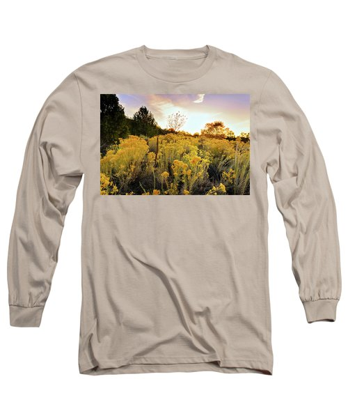 Long Sleeve T-Shirt featuring the photograph Santa Fe Magic by Stephen Anderson