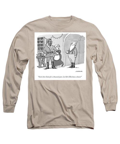 Santa For A Thousand Years Long Sleeve T-Shirt