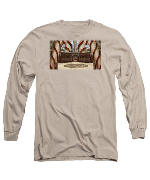 Santa House Long Sleeve T-Shirt
