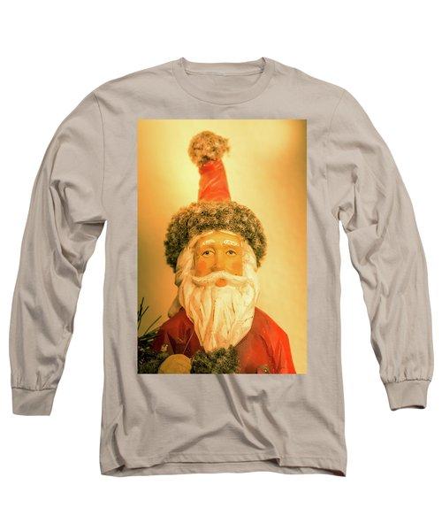 Santa Is Watching Long Sleeve T-Shirt