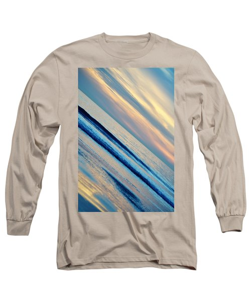 Long Sleeve T-Shirt featuring the photograph Santa Monica Sunset by Kyle Hanson