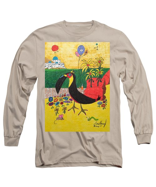 Santorini-esque Long Sleeve T-Shirt