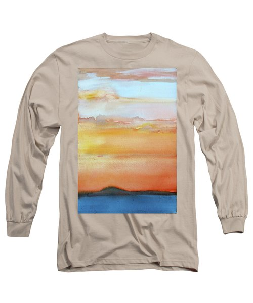 Sapphire Sunrise Autumn Long Sleeve T-Shirt