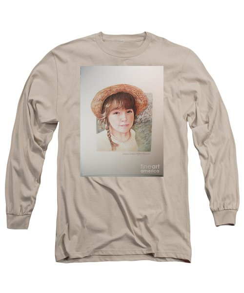 Sarah Long Sleeve T-Shirt by Patricia Schneider Mitchell