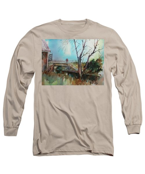 Sara's View Of The Jones River Long Sleeve T-Shirt