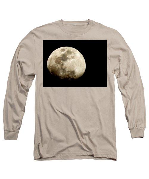 Satellite Serenade  Long Sleeve T-Shirt by Paulo Guimaraes