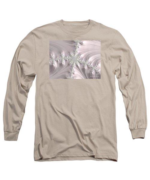 Satin Long Sleeve T-Shirt by Elaine Teague