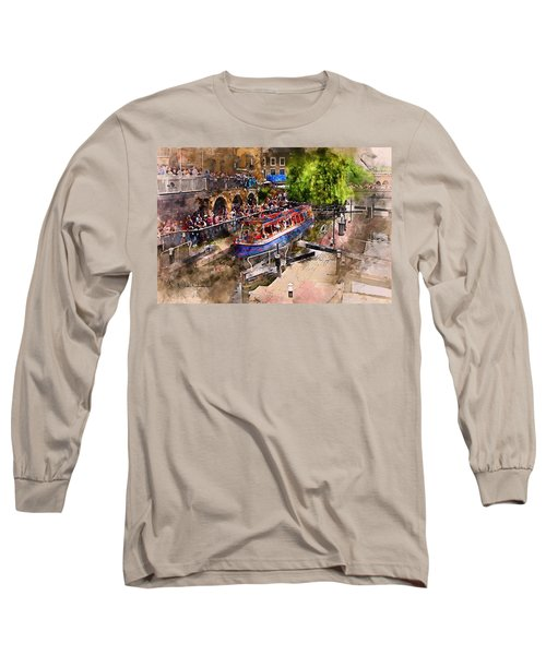 Saturday Afternoon At Camden Lock Long Sleeve T-Shirt by Nicky Jameson