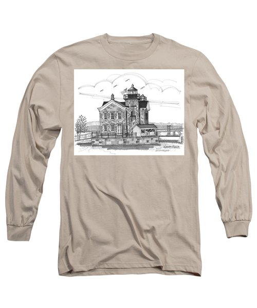 Saugerties Lighthouse Long Sleeve T-Shirt